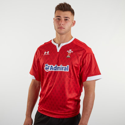 Under Armour Wales WRU 7s 2019/20 Home S/S Replica Shirt