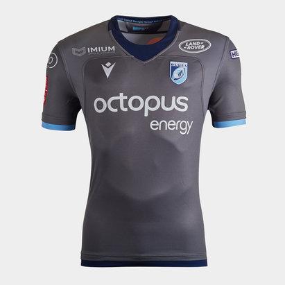 Macron Cardiff Blues 2019/20 Alternate S/S Replica Shirt
