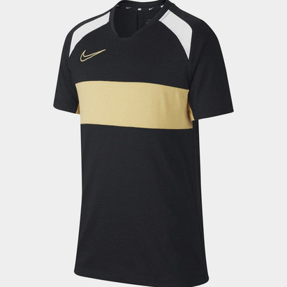 Nike Academy Short Sleeve Top Junior Boys