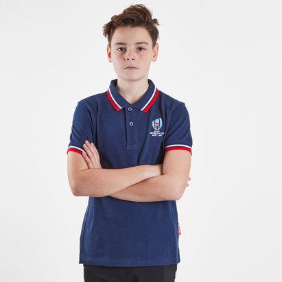 RWC 2019 Kids Pique Classic Polo Shirt