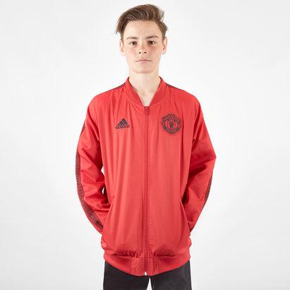 adidas Manchester United 19/20 Kids Anthem Football Jacket