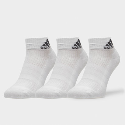 adidas 3 Pk Performance Ankle Socks
