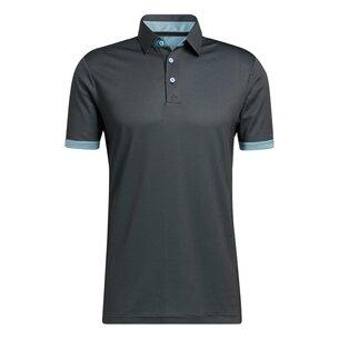 adidas 2 Tone Mesh Polo Shirt Mens