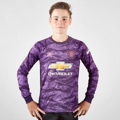 adidas Manchester United 19/20 Home Kids L/S Goalkeeper Shirt