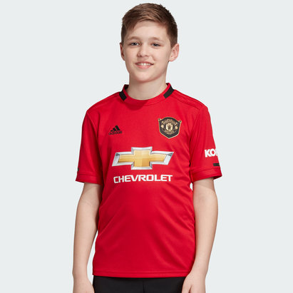 adidas Manchester United Home Shirt 2019 2020 Junior