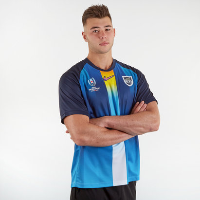 Nike Argentina RWC 2019 Alternate S/S Replica Rugby Shirt