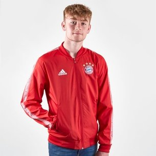 adidas FC Bayern Anthem Jacket Mens