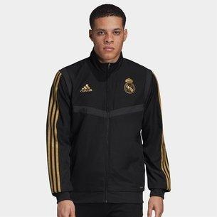 adidas Real Madrid 19/20 Players Presentation Football Jacket