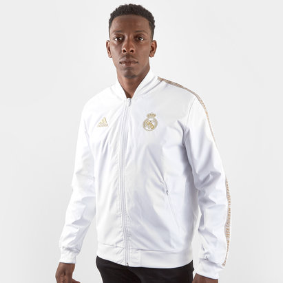 adidas Real Madrid 19/20 Players Anthem Football Jacket