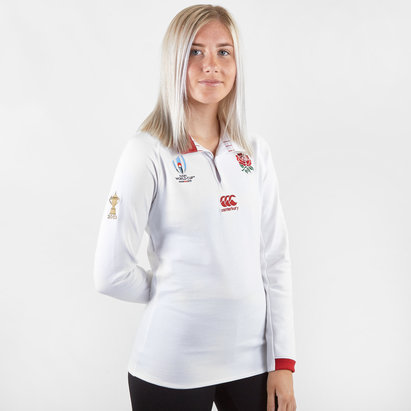 Canterbury England RWC 2019 Ladies Home Classic L/S Rugby Shirt