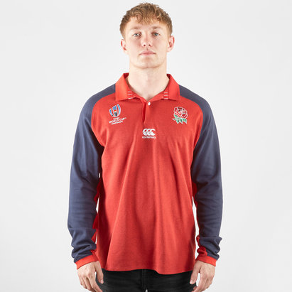 Canterbury England RWC 2019 Alternate Classic L/S Rugby Shirt