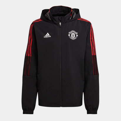 adidas Manchester United All Weather Jacket 2021 2022 Mens