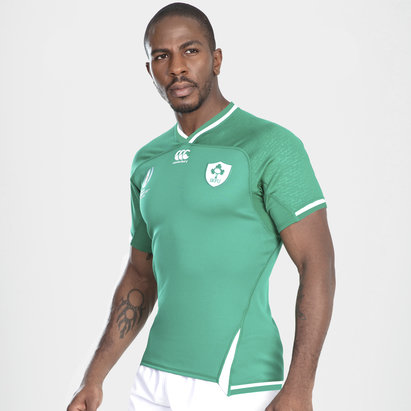 Canterbury Ireland IRFU RWC 2019 Home S/S Players Test Rugby Shirt
