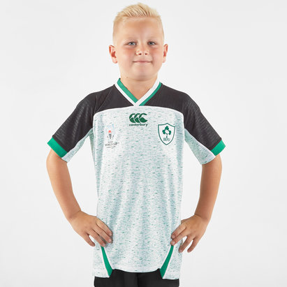 Canterbury Ireland IRFU RWC 2019 Kids Alternate Pro S/S Rugby Shirt