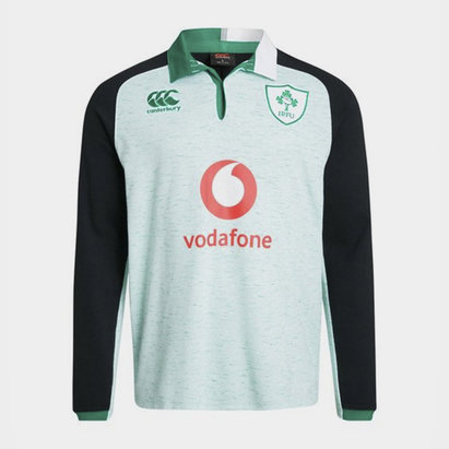 Canterbury Ireland IRFU 2019/20 Alternate Classic L/S Rugby Shirt