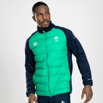 Canterbury Ireland IRFU 2019/20 Players Hybrid Rugby Jacket