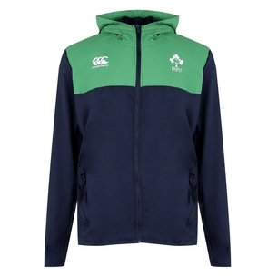 Canterbury Ireland IRFU 2019/20 Full Zip Hooded Rugby Sweat