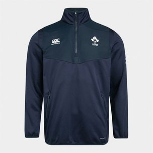 Canterbury Ireland IRFU 2019/20 Kids 1/4 Zip Rugby Training Top