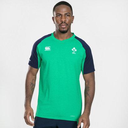 Canterbury Ireland IRFU 2019/20 Players Cotton Rugby Training T-Shirt