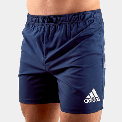 adidas 3 Stripes Rugby Shorts