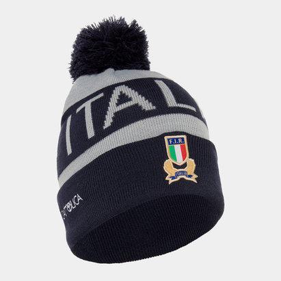 Macron Italy 2019/20 Players Pom Pom Rugby Beanie
