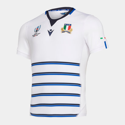 Macron Italy RWC 2019 Alternate S/S Replica Rugby Shirt