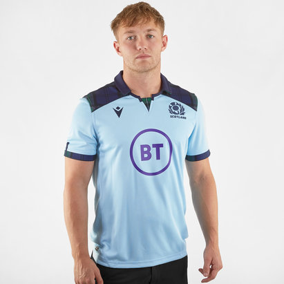 Macron Scotland 2019/20 Alternate S/S Replica Rugby Shirt