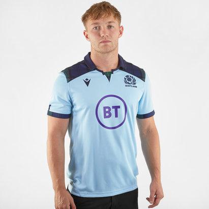 Macron Scotland 2019/20 Alternate S/S Replica Rugby Shirt
