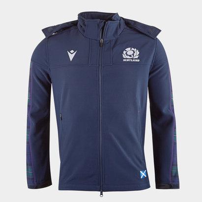 Macron Scotland 2019/20 Players Softshell Rugby Jacket