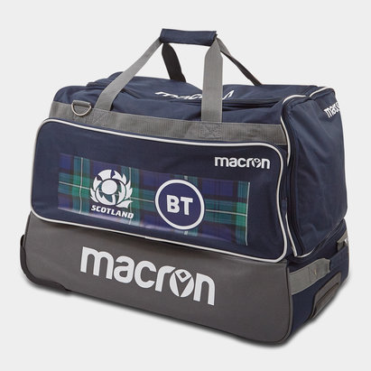 Macron Scotland 2019/20 Players Rugby Trolley Bag