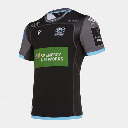 Macron Glasgow Warriors 2019/20 Home Test Rugby Shirt