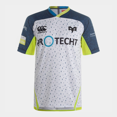 Canterbury Ospreys 2019/20 Alternate S/S Pro Rugby Shirt