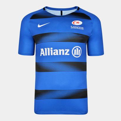 Nike Saracens 2019/20 Players Squad Training Shirt