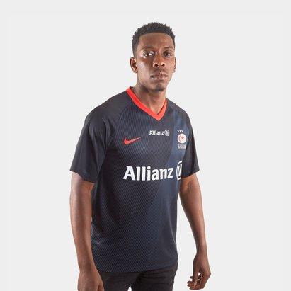 Nike Saracens 2019/20 Rugby Home Shirt Mens
