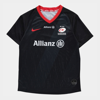Nike Saracens Home Rugby Shirt 2019 2020 Junior
