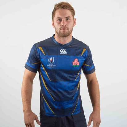 Canterbury Japan RWC 2019 Alternate Pro S/S Rugby Shirt