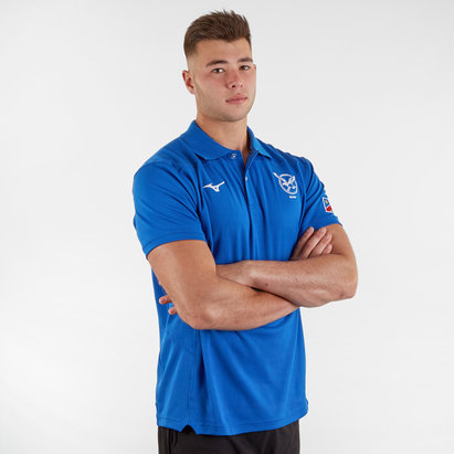 Mizuno Namibia 2019/20 Players Leisure Rugby Polo Shirt