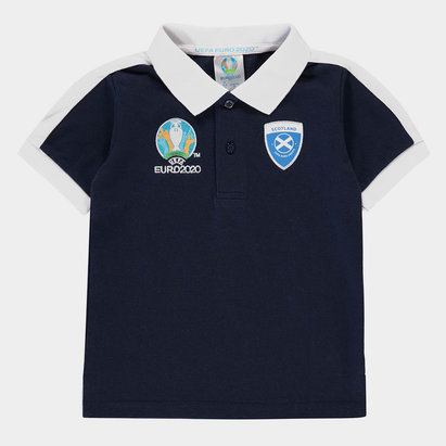 UEFA Euro 2020 Scotland Polo Shirt Infant Boys