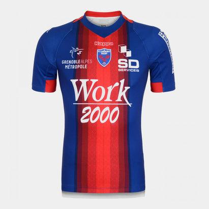 Kappa FC Grenoble 2019/20 Home Replica Shirt