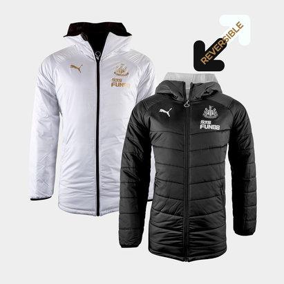 Puma Newcastle United 19/20 Reversible Bench Football Jacket