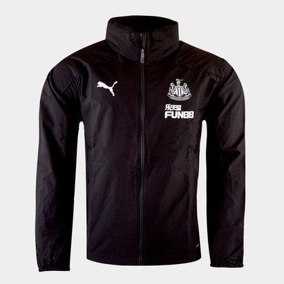 Puma Newcastle United 19/20 Players Football Rain Jacket