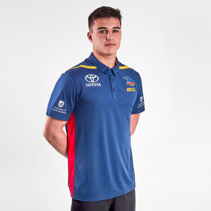 ISC Adelaide Crows 2019 AFL Players Polo Shirt