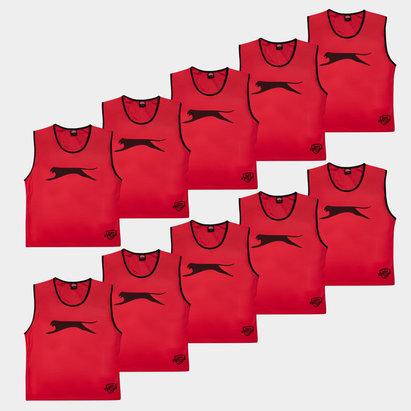 Slazenger Adult Training Bibs - Set of 10