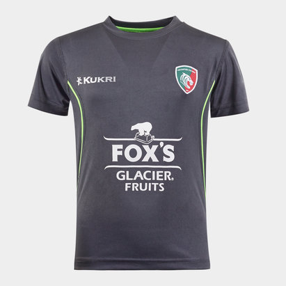 Kukri Leicester Tigers 2019/20 Kids Training T-Shirt
