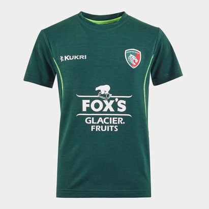 Kukri Leicester Tigers 2019/20 Kids Lifestyle T-Shirt