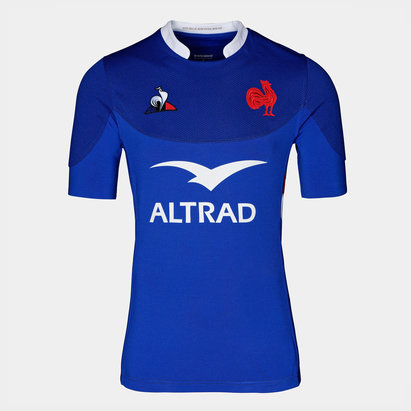Le Coq Sportif France 2019/20 Home S/S Rugby Shirt