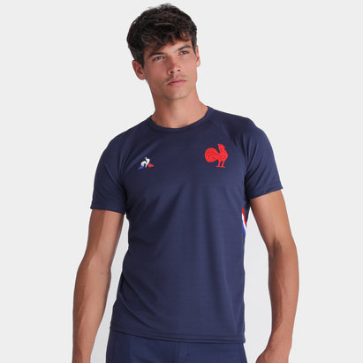 Le Coq Sportif France 2019/20 Players Rugby Training T-Shirt