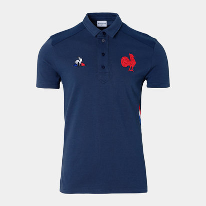 Le Coq Sportif France 2019/20 Presentation Rugby Polo Shirt