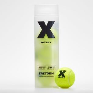 Tretorn Micro X Ball Tube - 4 Tennis Balls