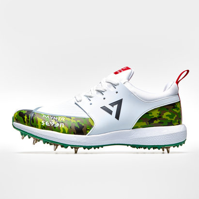 Payntr By Seven MS Dhoni Camo Spike Cricket Shoes
